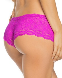 hiphugger style panty in modern lace-307- Pink-MainImage