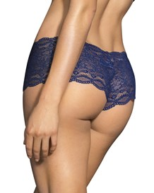 hiphugger style panty in modern lace-509- Dark Blue-MainImage