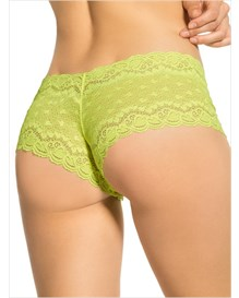 hiphugger style panty in modern lace-627- Yellow-MainImage