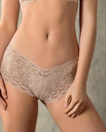 hiphugger style panty in modern lace-801- Brown-MainImage