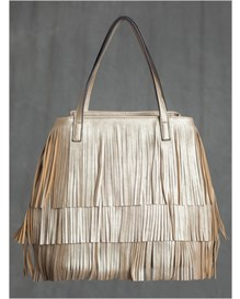 layered fringe front handbag-127- Gold-MainImage