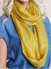 shiny infinity scarf-127- Gold-MainImage