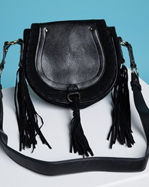 crossbody saddle bag-700- Black-MainImage