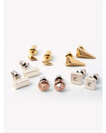 set x 5 aretes estilo topitos-123- Gold-MainImage