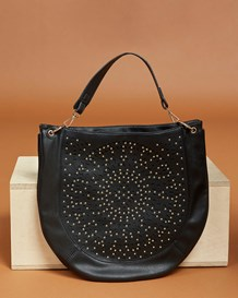 circular handbag-700- Black-MainImage